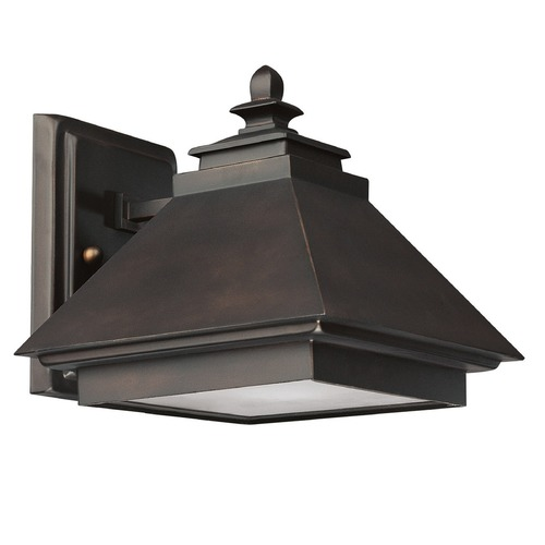 Capital Lighting Capital Lighting Dark Sky Med. Bronze Outdoor Wall Light 9091BB
