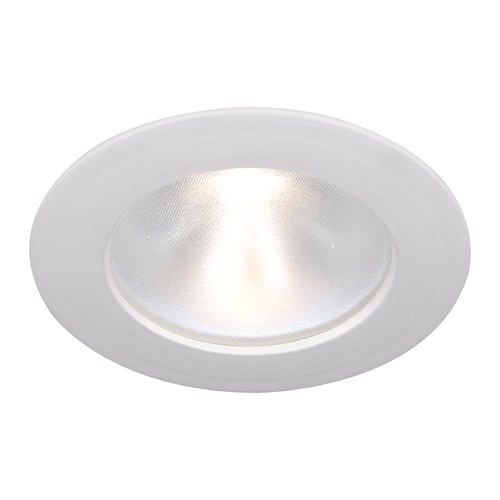 WAC Lighting WAC Lighting Round White 3.5-Inch LED Recessed Trim 3000K 1290LM 48 Degree HR3LD-ET118PF830WT