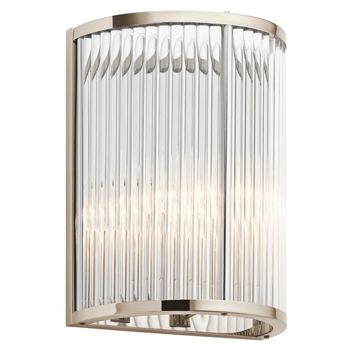 Kichler Lighting Kichler Lighting Artina Polished Nickel Wall Lamp 43865PN