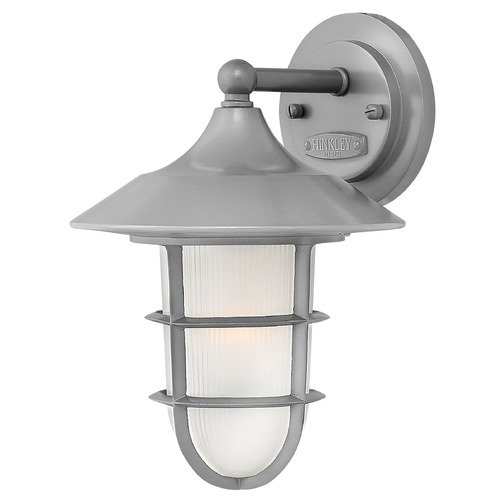 Hinkley Lighting Hinkley Lighting Marina Hematite Outdoor Wall Light 2410HE