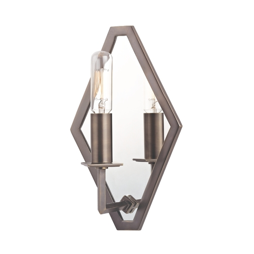 Hudson Valley Lighting Sconce Wall Light in Distressed Bronze Finish 810-DB