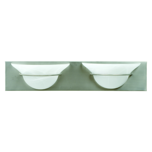 Jeremiah Lighting Jeremiah Moonglow Brushed Satin Nickel Bathroom Light 17124BN2