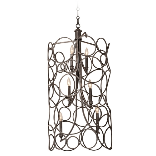 Kalco Lighting Kalco Lighting Ashbourne Vintage Iron Pendant Light 2760VI