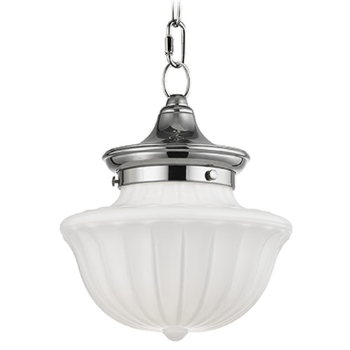 Hudson Valley Lighting Dutchess 1 Light Mini-Pendant Light - Polished Nickel 5009-PN