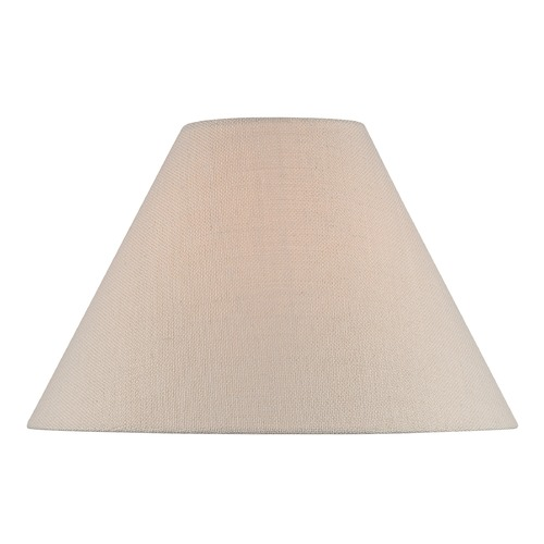 Lite Source Lighting Beige Empire Lamp Shade with Spider Assembly CH1254-18