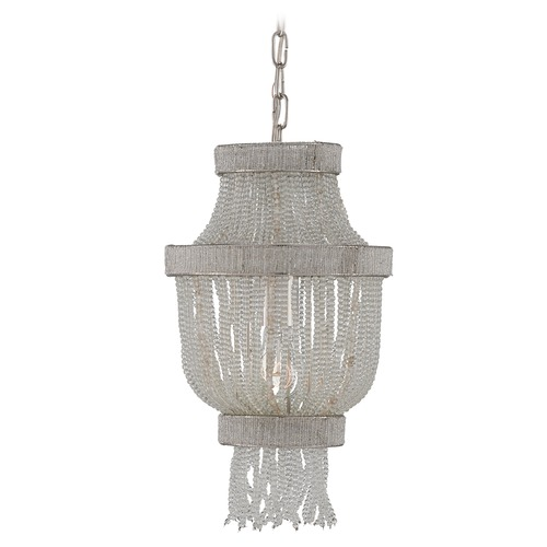 Currey and Company Lighting Currey and Company Karma Clear Pendant Light 9402