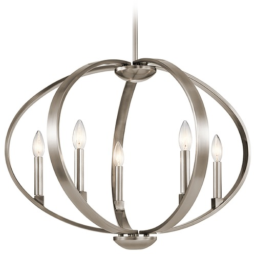 Kichler Lighting Kichler Lighting Elata Classic Pewter Pendant Light 43871CLP