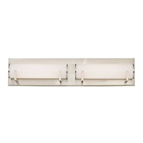 Dolan Designs Lighting Madison LED 2-Light Bathroom Light Satin Nickel Finish 3162-09
