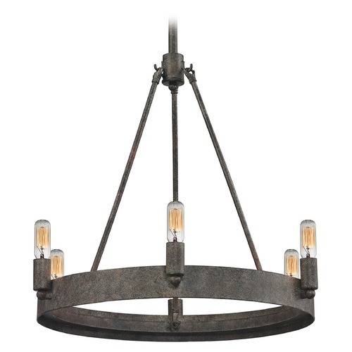 Elk Lighting Elk Lighting Lewisburg Malted Rust Mini-Chandelier 31820/6