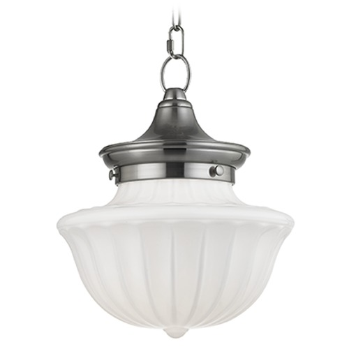 Hudson Valley Lighting Dutchess 1 Light Mini-Pendant Light - Satin Nickel 5009-SN