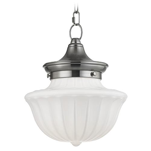 Hudson Valley Lighting Dutchess: Dutchess 1 Light Mini-Pendant Light - Satin Nickel