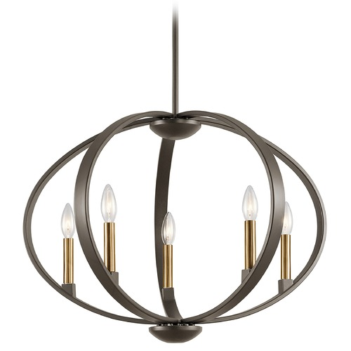 Kichler Lighting Kichler Lighting Elata Olde Bronze Pendant Light 43871OZ