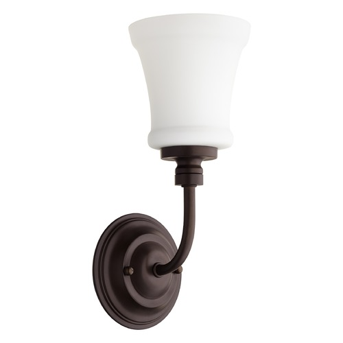 Quorum Lighting Quorum Lighting Rossington Oiled Bronze Sconce 5522-1-86