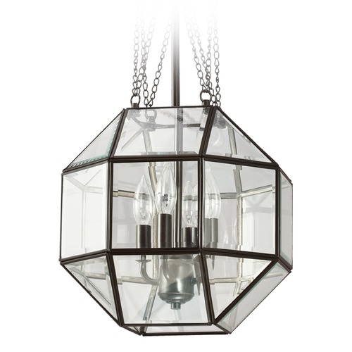 Sea Gull Lighting Sea Gull Lighting Lazlo Heirloom Bronze Pendant Light with Octagon Shade 6634404-782