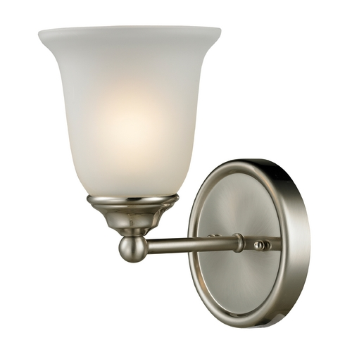 Cornerstone Lighting Cornerstone Lighting Sudbury Brushed Nickel Sconce 5601BB/20