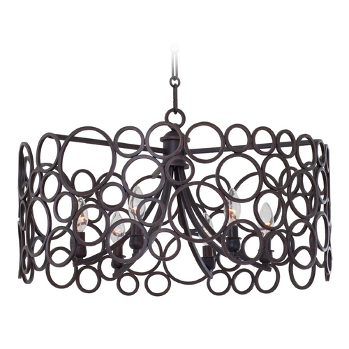Kalco Lighting Kalco Lighting Ashbourne Vintage Iron Pendant Light 2761VI