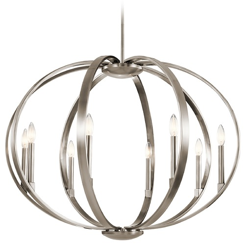 Kichler Lighting Kichler Lighting Elata Classic Pewter Pendant Light 43872CLP