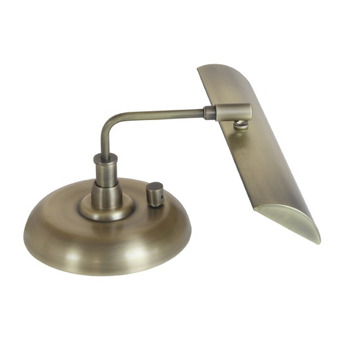 House of Troy Lighting House Of Troy Zenith Antique Brass LED Piano / Banker Lamp PZLEDZ101-71