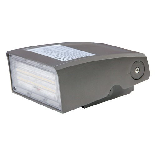 Satco Lighting 80 Watt Adjustable LED Wall Pack CCT Selectable 9600-10K Lumens 120-277V 65/680