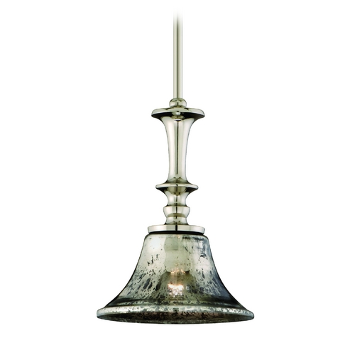 Corbett Lighting Corbett Lighting Argento Polished Nickel Island Light with Bell Shade 103-41