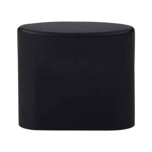 Top Knobs Hardware Modern Cabinet Knob in Flat Black Finish TK73BLK