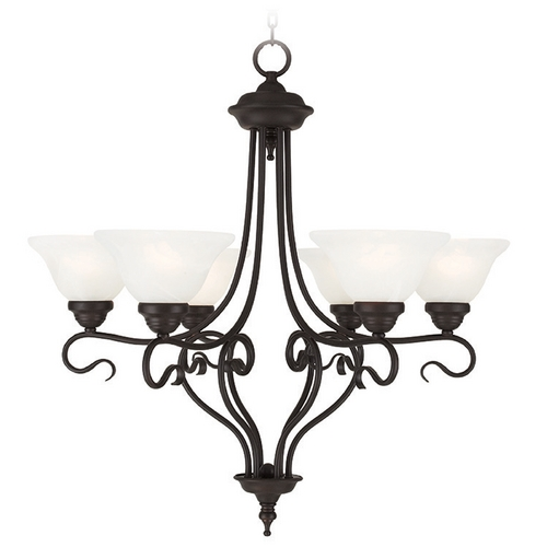 Livex Lighting Livex Lighting Coronado Bronze Chandelier 6126-07