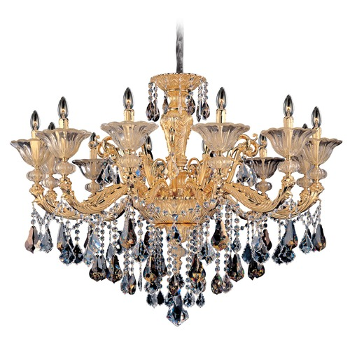 Allegri Lighting Mendelsshon 12 Light Crystal Chandelier 11095-016-FR000