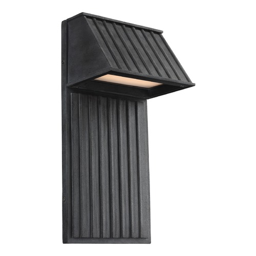 Feiss Lighting Feiss Lighting Tove Dark Weathered Zinc LED Outdoor Wall Light OL12602DWZ-LED