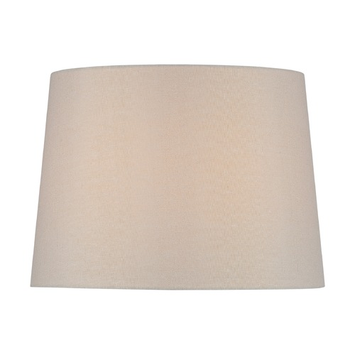 Lite Source Lighting Beige Drum Lamp Shade with Spider Assembly CH1258-14