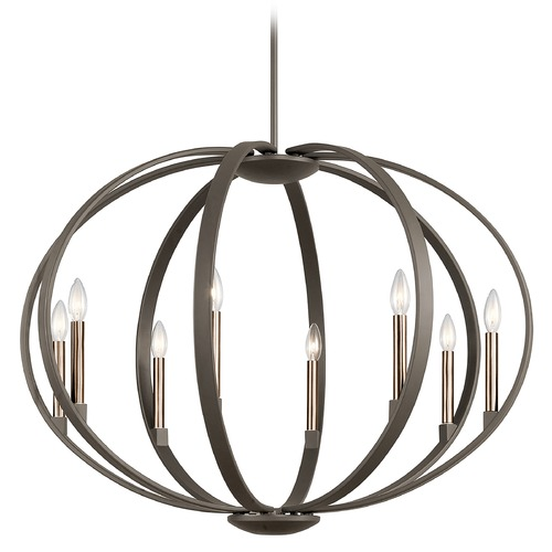 Kichler Lighting Kichler Lighting Elata Olde Bronze Pendant Light 43872OZ