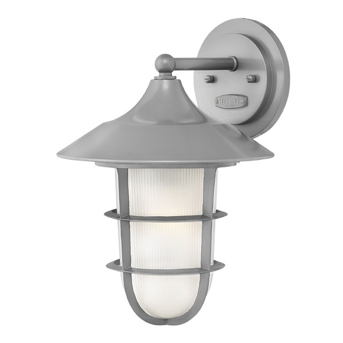 Hinkley Lighting Hinkley Lighting Marina Hematite Outdoor Wall Light 2414HE