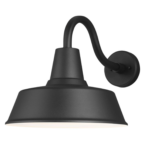 Sea Gull Lighting Sea Gull Lighting Barn Light Black Barn Light 8737401-12