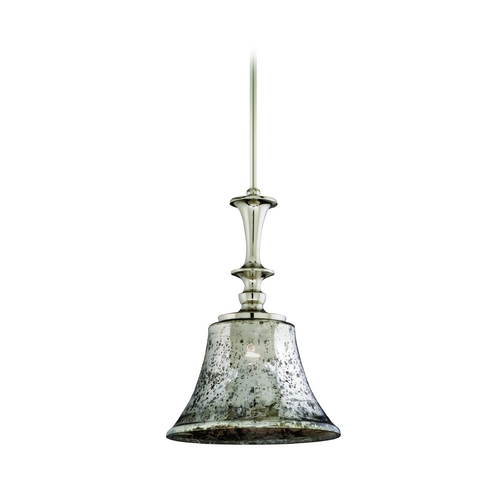 Corbett Lighting Corbett Lighting Argento Polished Nickel Island Light with Bell Shade 103-42