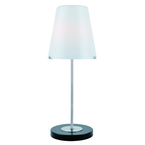 Lite Source Lighting Lite Source Lighting Decker Table Lamp with Cylindrical Shade LS-21910