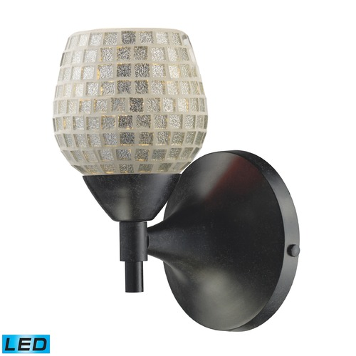 Elk Lighting Elk Lighting Celina Polished Chrome LED Sconce 10150/1DR-SLV-LED