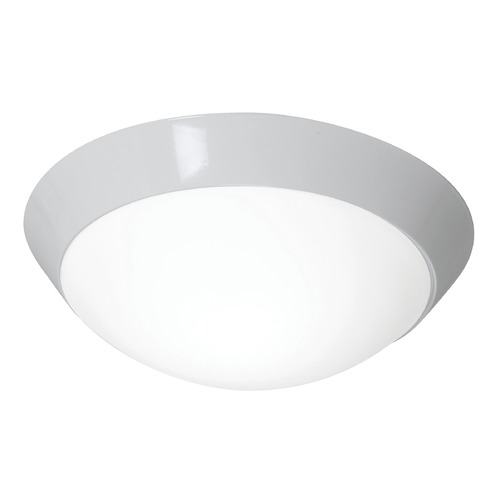 Access Lighting Access Lighting Cobalt White LED Flushmount Light 20626LEDD-WH/OPL