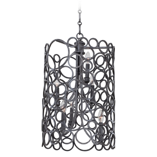 Kalco Lighting Kalco Lighting Ashbourne Vintage Iron Pendant Light 2762VI