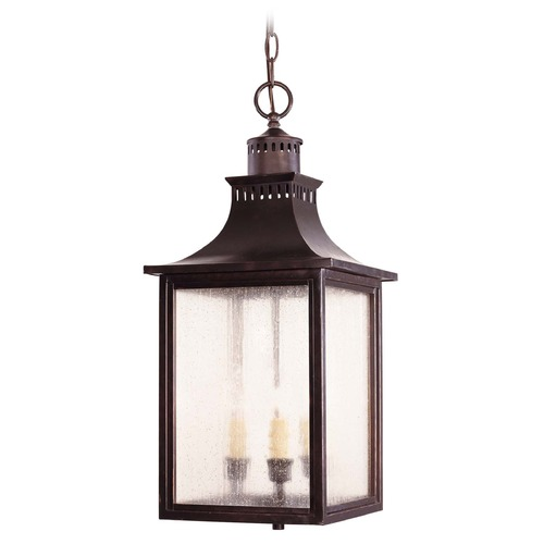 Savoy House Savoy House English Bronze Outdoor Hanging Light 5-256-13
