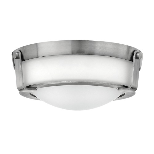 Hinkley Lighting Hinkley Lighting Hathaway Antique Nickel LED Flushmount Light 3223AN-LED
