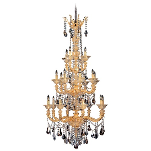 Allegri Lighting Mendelsshon 20 Light Crystal Chandelier 11096-016-FR000