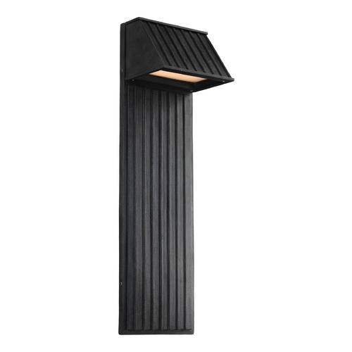 Feiss Lighting Feiss Lighting Tove Dark Weathered Zinc LED Outdoor Wall Light OL12603DWZ-LED