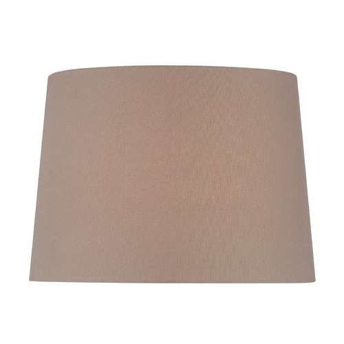 Lite Source Lighting Taupe Drum Lamp Shade with Spider Assembly CH1259-14