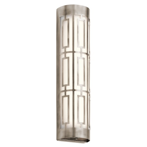 Kichler Lighting Kichler Lighting Empire Classic Pewter LED Bathroom Light 43879CLPLED