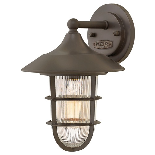 Hinkley Lighting Hinkley Lighting Marina Bronze Outdoor Wall Light 2480BZ