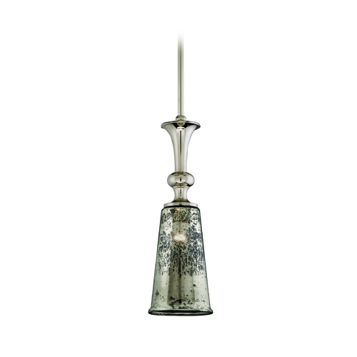 Corbett Lighting Mini-Pendant Light with Mercury Glass 103-43