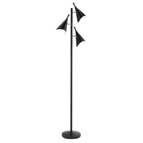 Adesso Home Lighting Adesso Home Lighting Draper Black Floor Lamp 3236-01