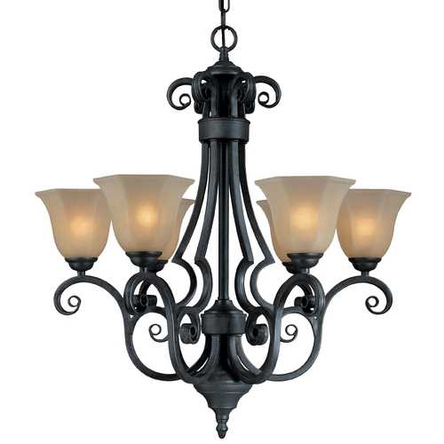 Dolan Designs Lighting Six-Light Chandelier 775-34