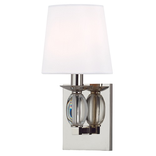 Hudson Valley Lighting Cameron ADA 1 Light Sconce - Polished Nickel 4611-PN