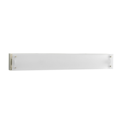 Progress Lighting Progress Modern Sconce Wall Light with White Glass P7212-09EB