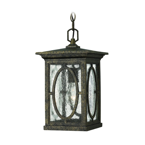Hinkley Lighting LED Outdoor Hanging Light with Clear Glass in Autumn Finish 1492AM-LED